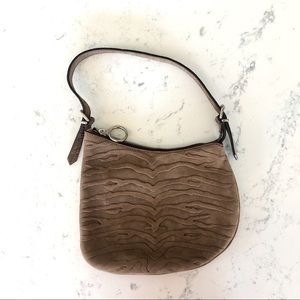 Fendi Suede Small Saddle Bag